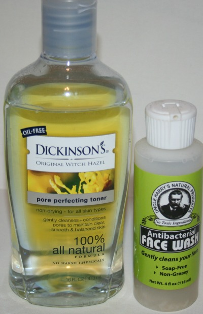Dickinson witch hazel for acne