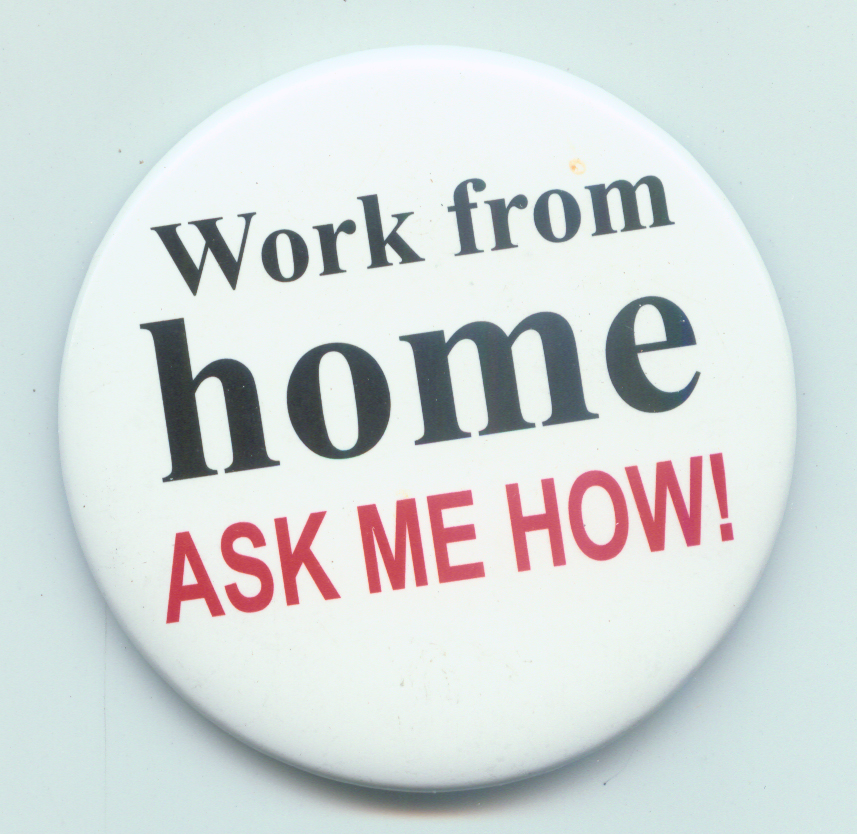 working from home job opportunities