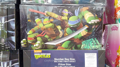Slumber Bag with Matching Pillow – Teenage Mutant Ninja Turtles