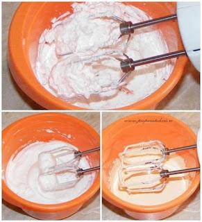 albusuri batute bezea pentru inghetata, galbenusuri frecate crema pentru inghetata, frisca lichida batuta pentru inghetata, retete culinare,