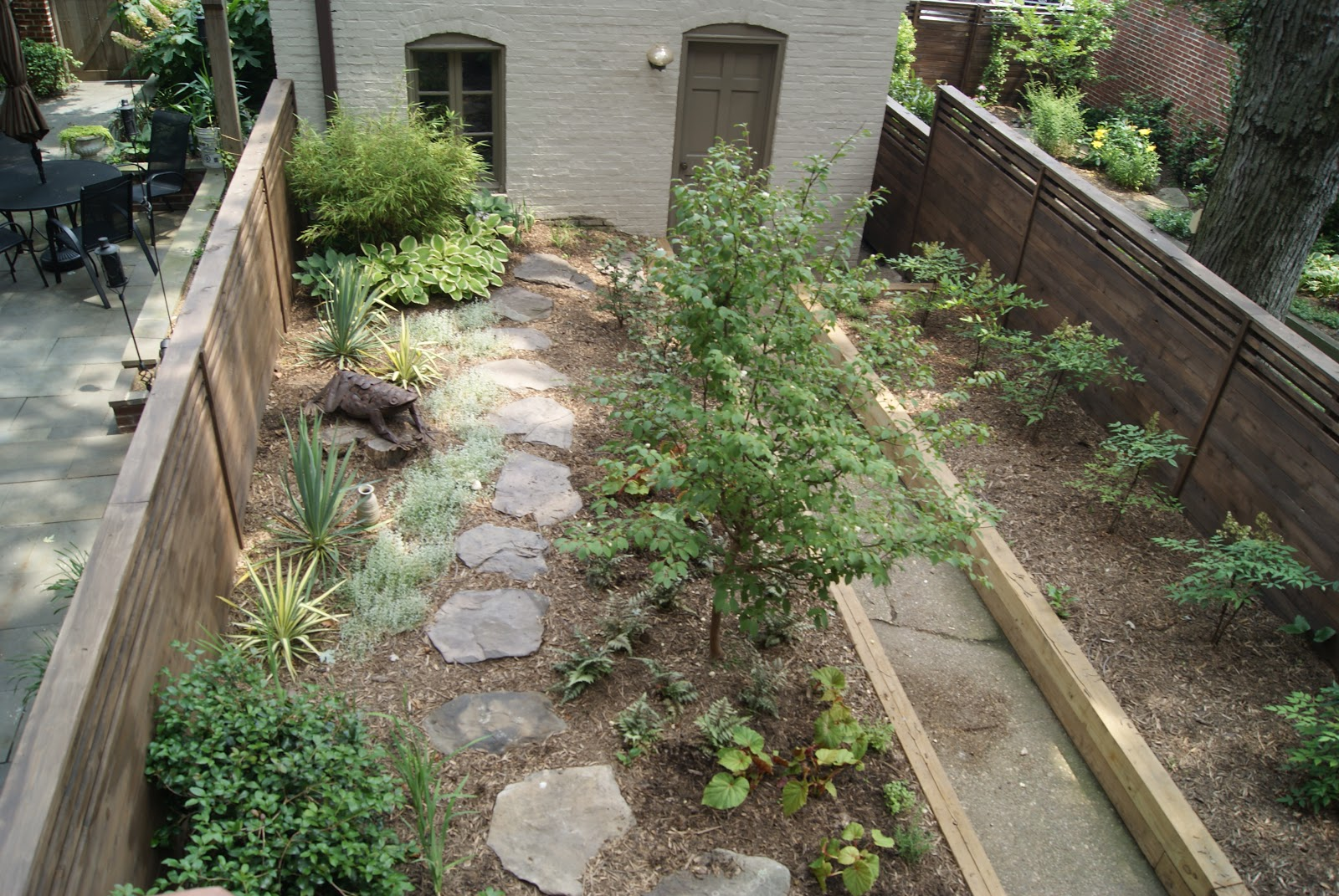 Seven Winds LLC A Woodland Garden in a City