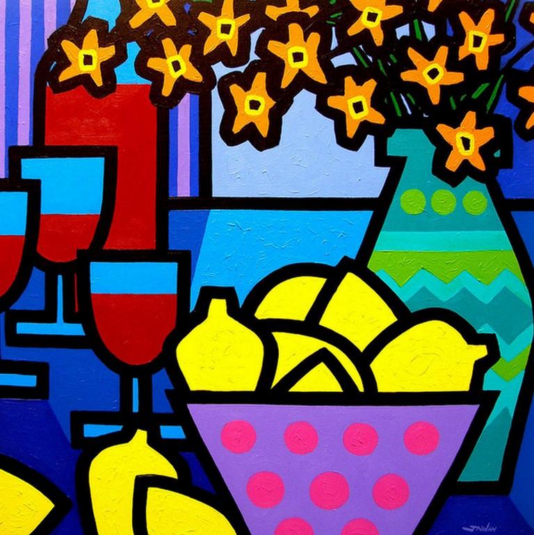 Pinturas cuadros lienzos bodegones modernos al oleo de - Imagenes de cuadros para cocina ...