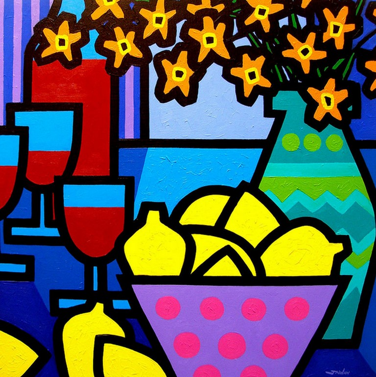 Pinturas cuadros lienzos bodegones modernos al oleo de - Cuadros decorativos para cocina abstractos modernos ...