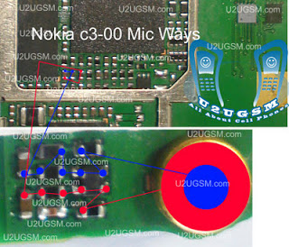 Latest Nokia C3 Hardware Mic Solution Jumpering