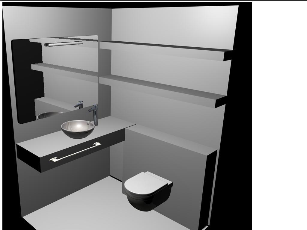 Interiorismo y decoracion lola torga dise o de un ba o de protocolo - Interiorismo y diseno ...