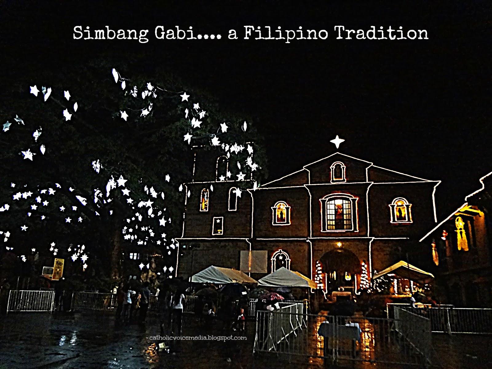 Catholic Voice Media Simbang Gabi Las Pinas Bamboo Organ Church