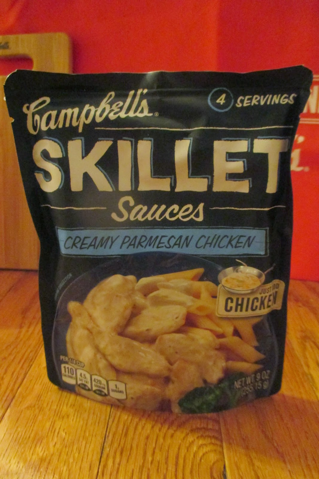 Campbell's Creamy Parmesan Chicken Campbell's Skillet Sauce