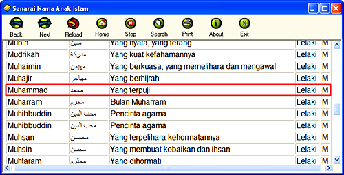 Nama Nama Islam   elHouz