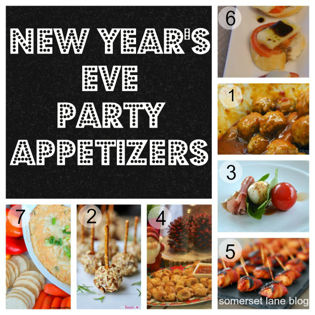 appetizer recipes, New Years Eve appetizers