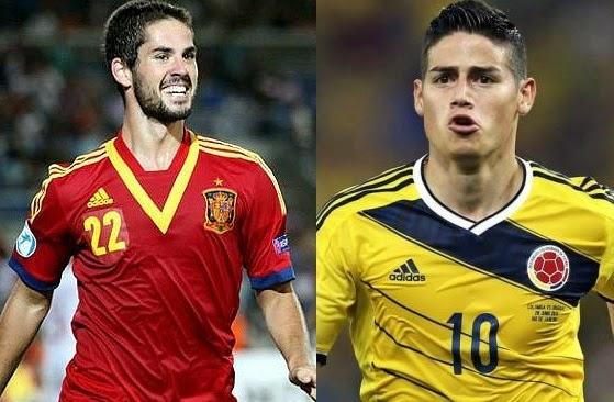 Player Comparison Isco vs Rodriguez