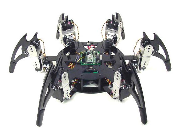 Arduino robot hobby rc hexapod metal