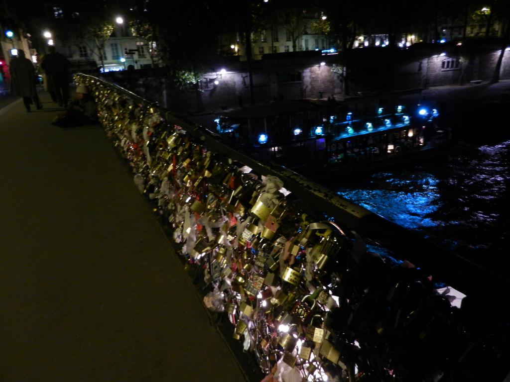 Paris Paris Lock Bridge