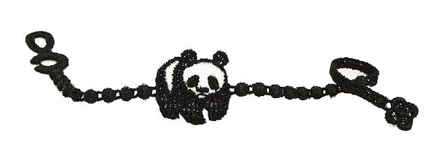 pulsera, solidaria, cruciani, wwf, panda, suerte, bracelet, macrame, lacaprichossa, oasis, italia
