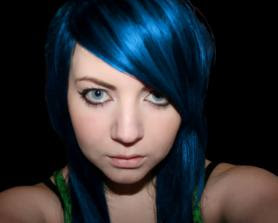 black hair color blue black hair color