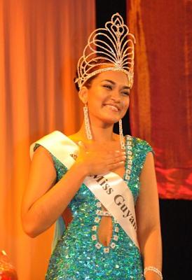 miss guyana 2011 winner arti angelita cameron