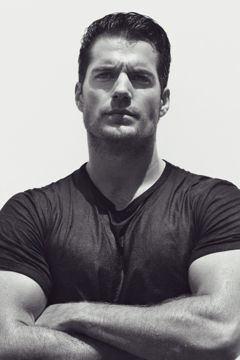 Henry Cavill's Bulging Muscles in Interview Magazine