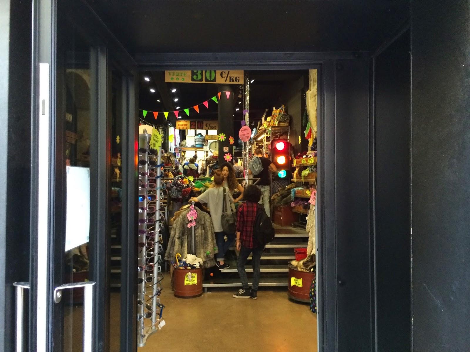 Marais shopping