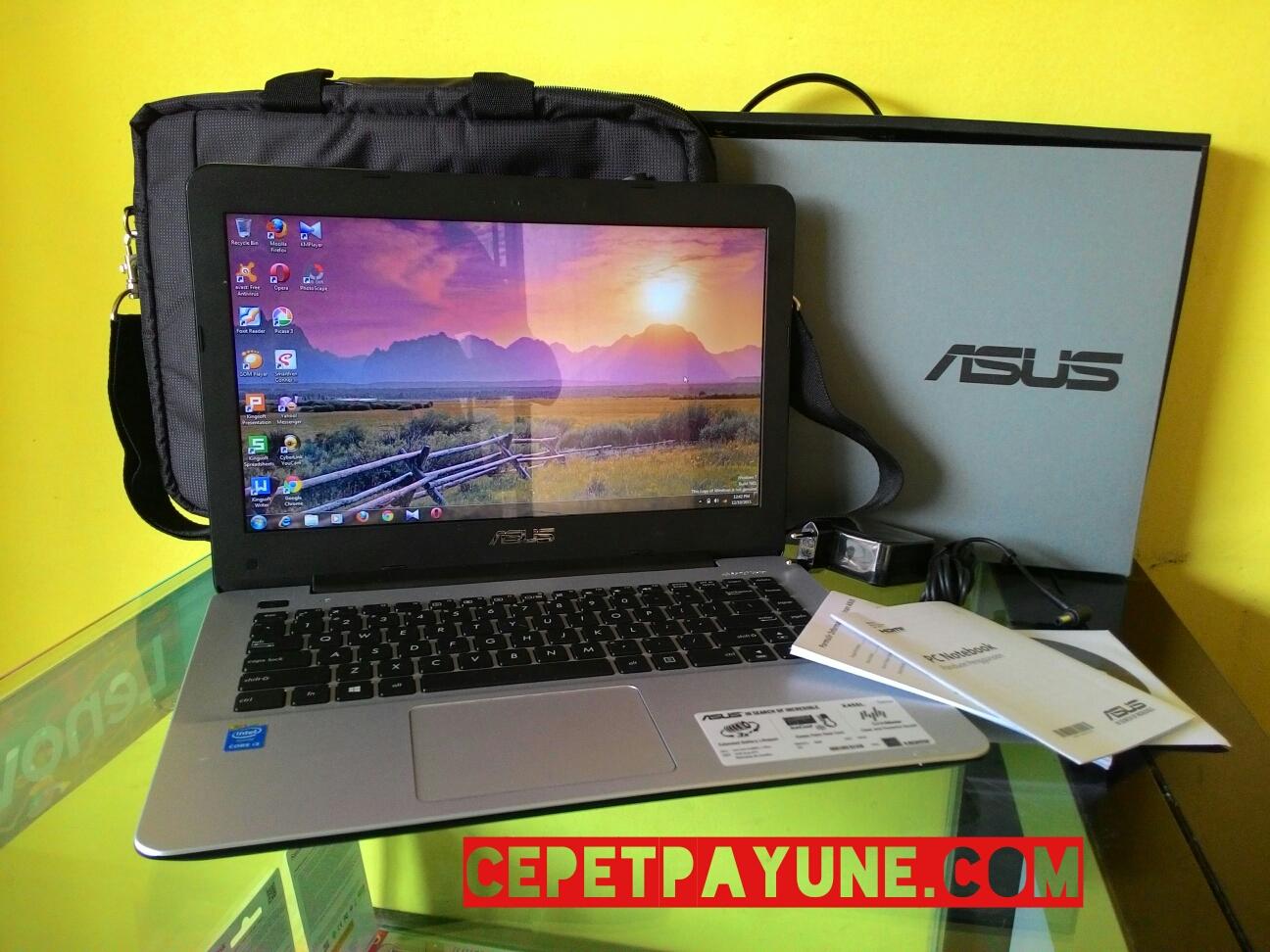 Jual Asus A455la Welcome To Lcd Led 140 Laptop X451 X451c X451ca X451m X451ma Series Intel Core I3 4005u Fullset Seminggu Pakai 98