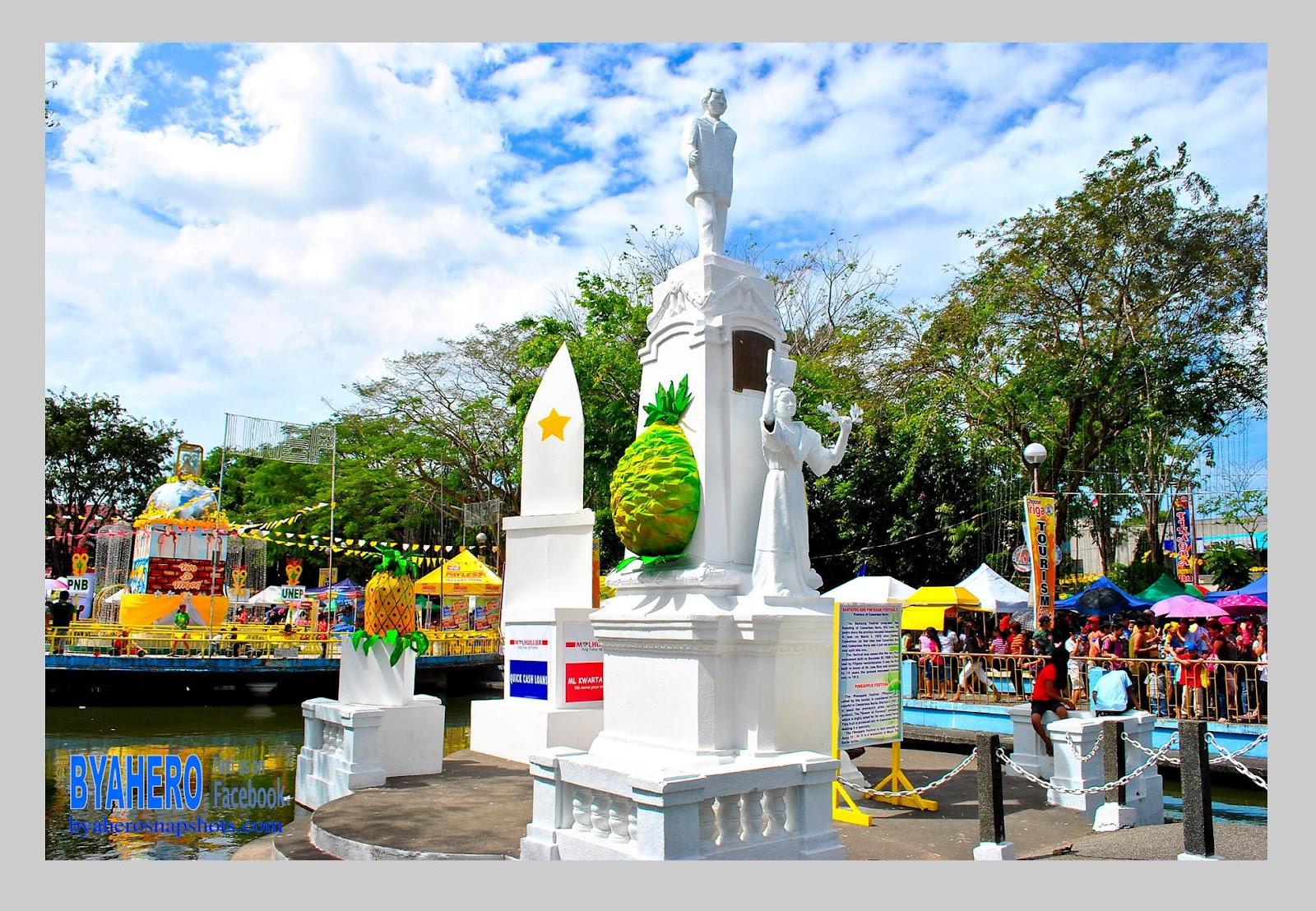 Iriga City Philippines  city photos gallery : Byahero: Jose Rizal Monument in Iriga City, Camarines Sur