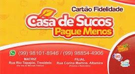 CASA DE SUCOS PAGUE MENOS