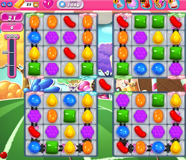 Candy Crush Saga 1440