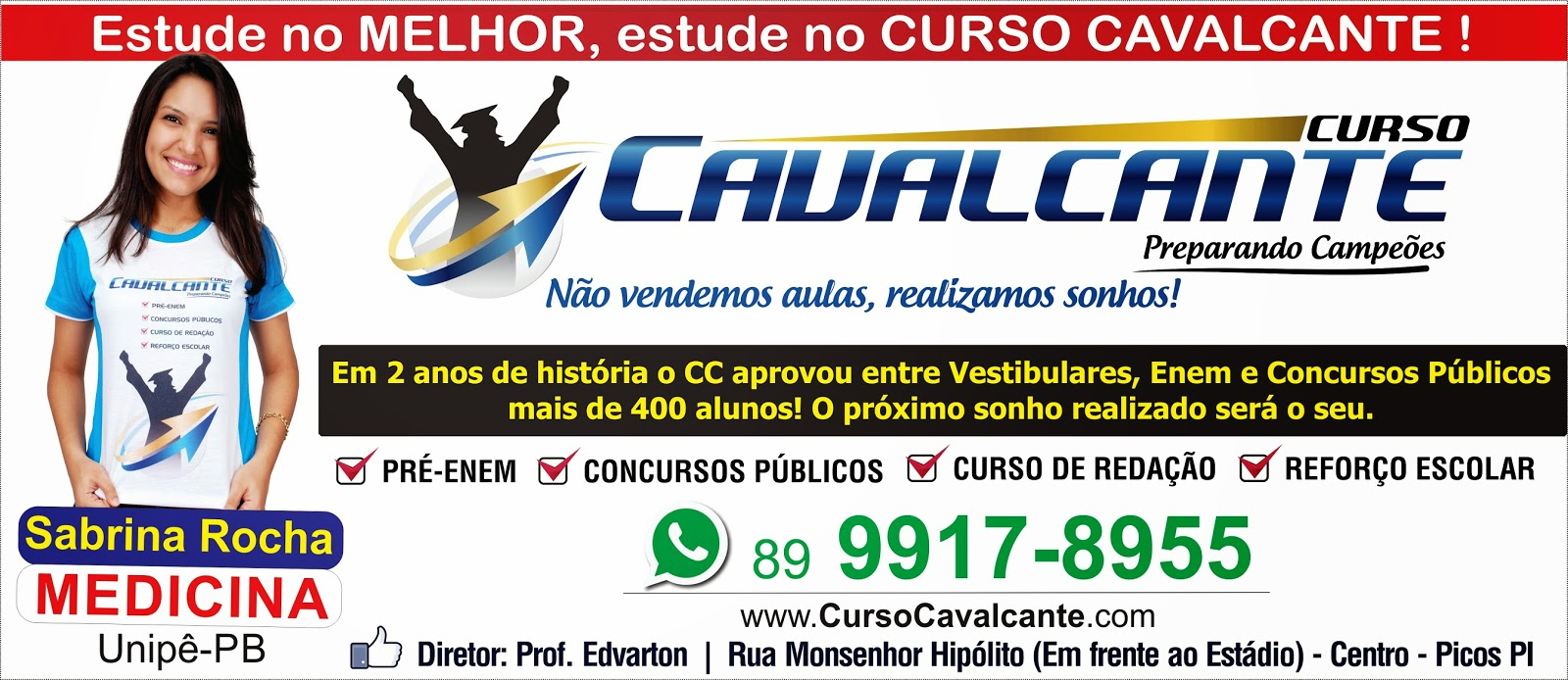 Curso Cavalcante - preparando campeões!