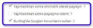 Blogger Google+