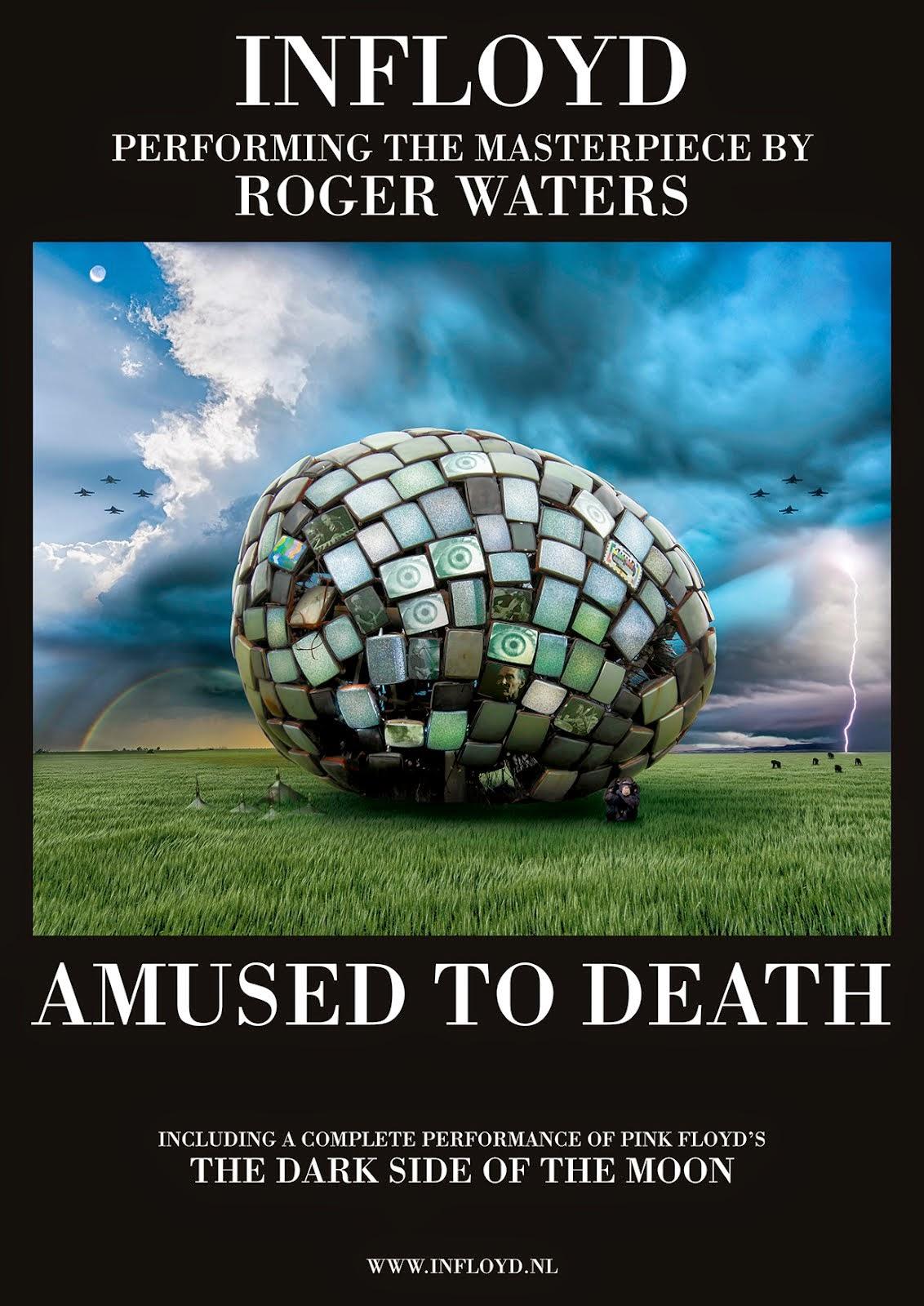 Wereldpremiére: INFLOYD met Amused To Death in de Boerderij op 6 september