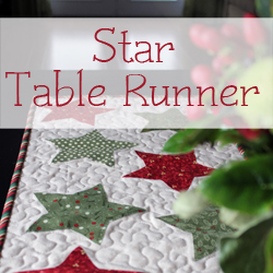 Star Table Runner Pattern