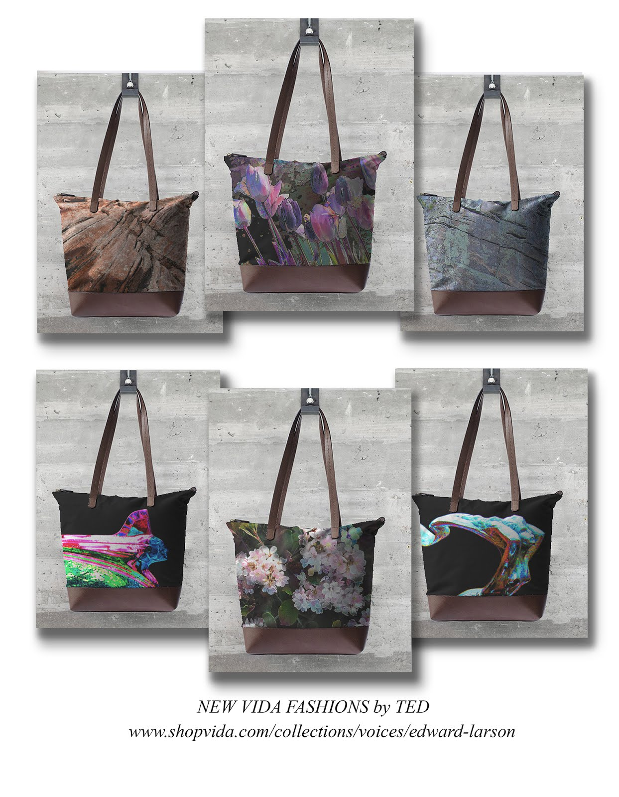 Statement Bag - Flower Power by VIDA VIDA dZGvoG8a