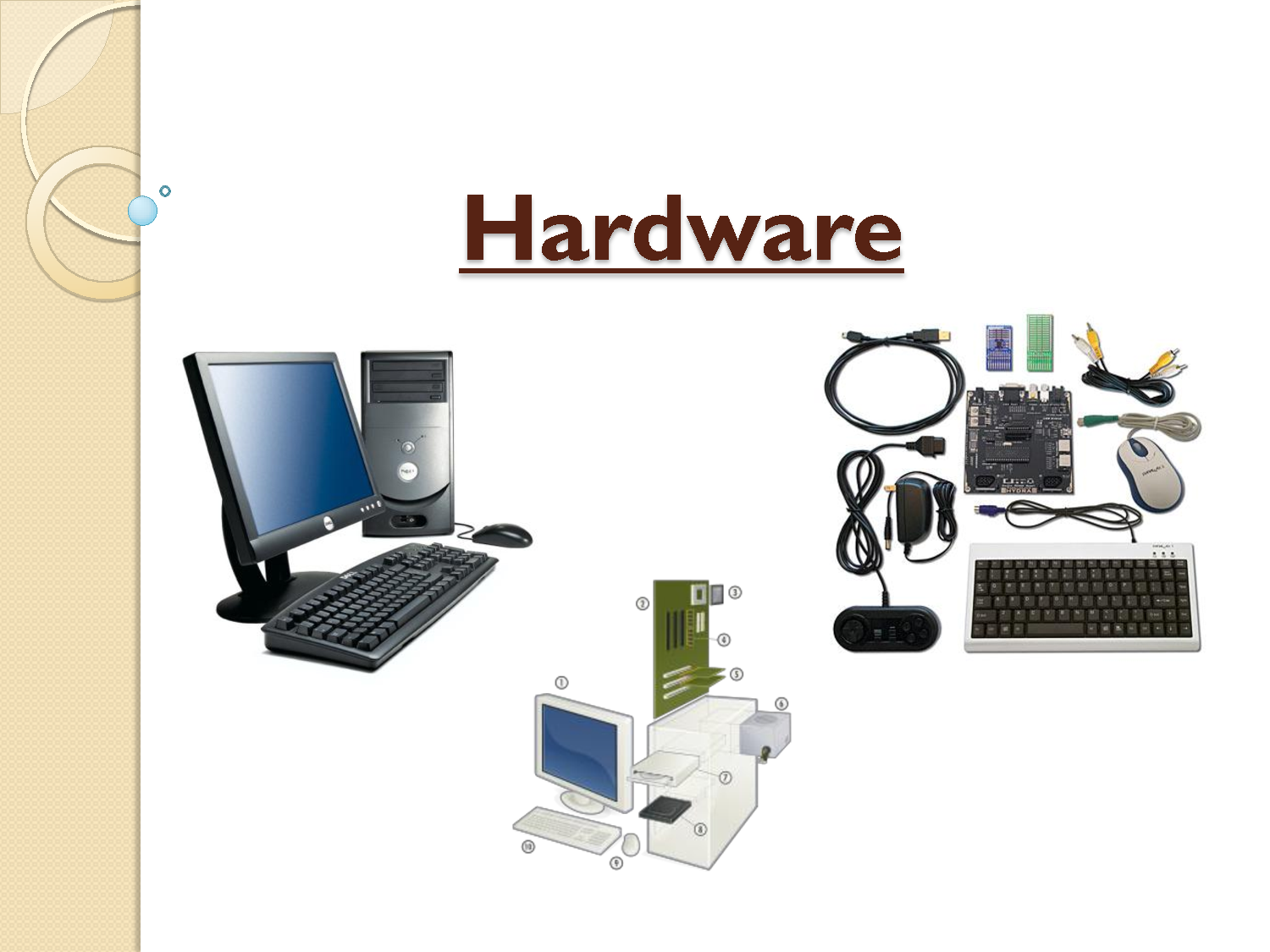 hardware software components Great slides and lecture as an addition to these words i suggest my very own experience with administrating a network i like to use inventory and audit software to check all changes that happened in a network.