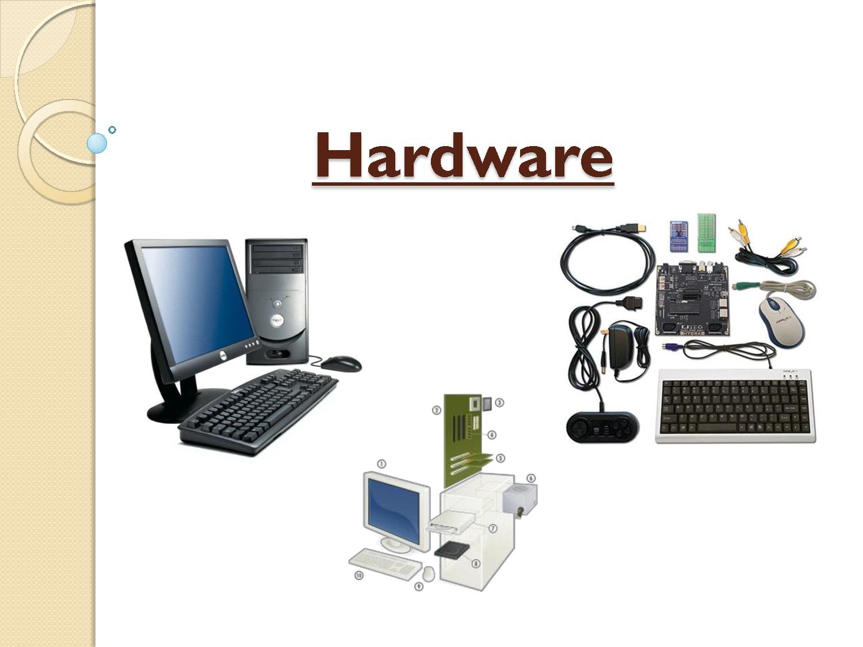 Los componentes de las computadoras la computadora y el for Que significa hardware