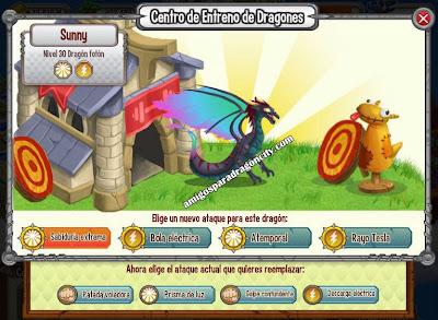 imagen de los ataques del dragon foton