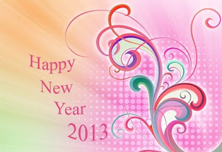 New Year 2013 Greetings Wishes Card