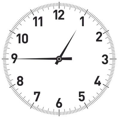 Raticos tecnol gicos agosto 2012 - Dibujos de relojes para imprimir ...