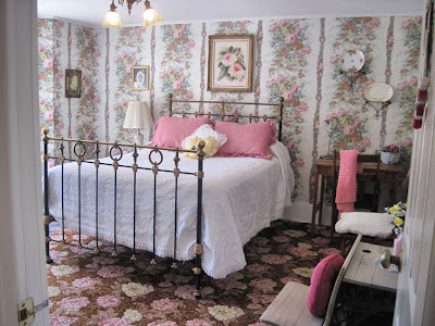 Linda Goodman's bedroom at the Last Dollar Inn B&B