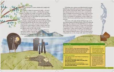 Ilustración Texto Manual Lengua