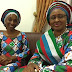 Mrs Oludolapo Osinbajo with Mrs Aisha Buhari more pics below