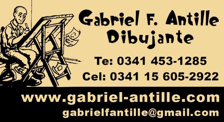 Gabriel Antille - Ilustraciones - Animaciones - Caricaturas