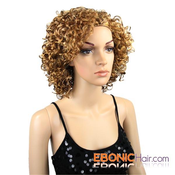 Curly Short Half Wigs 45