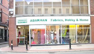 Abakhan fabric shop