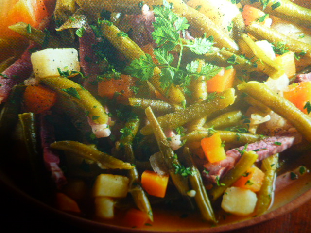 La cucina tedesca zuppa di fagiolini - La cucina tedesca ...