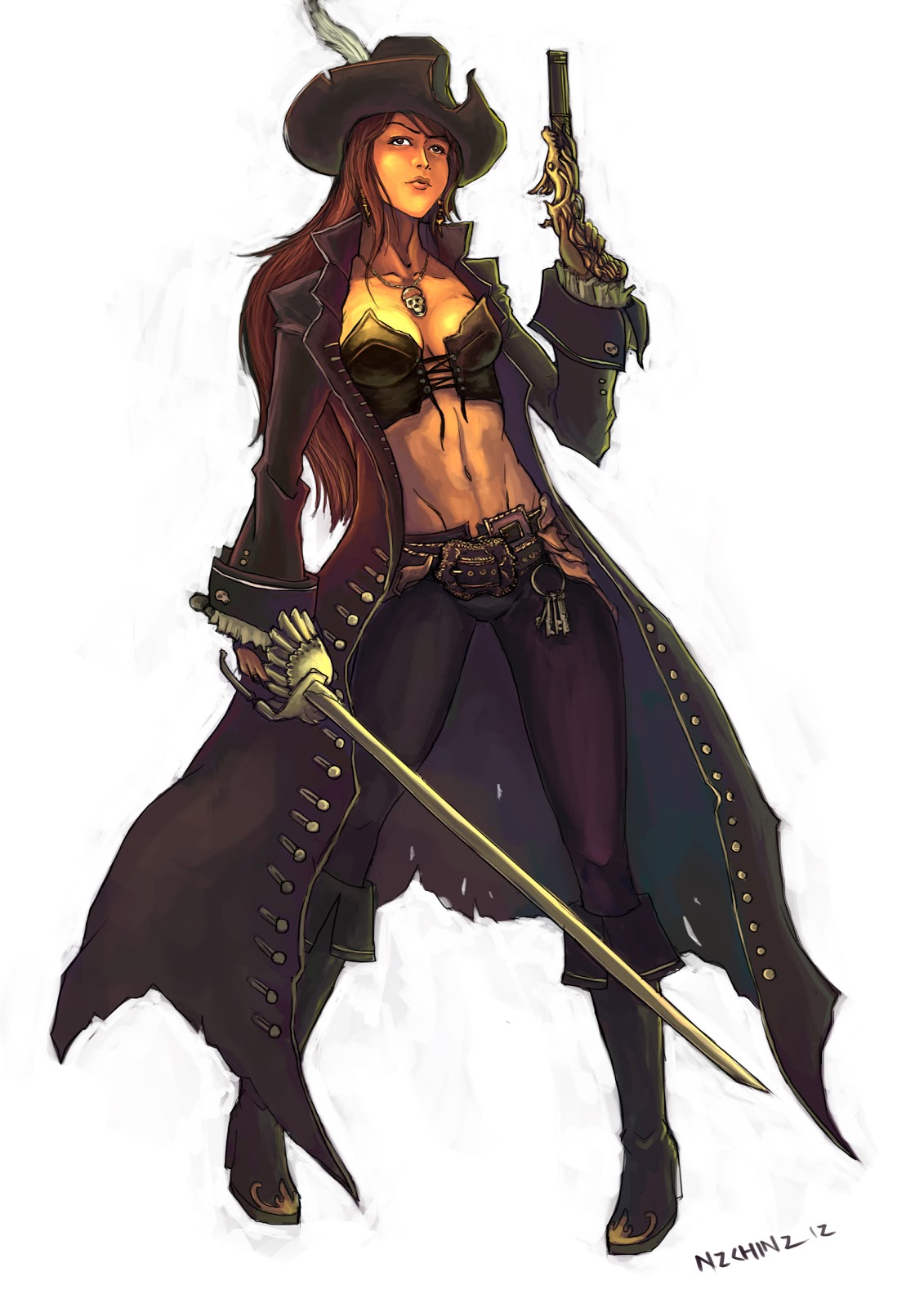 pirate woman captain