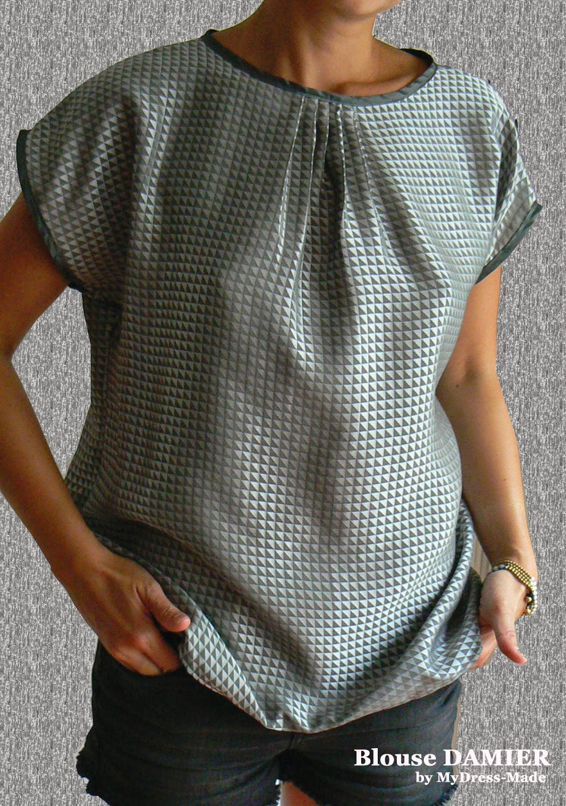 Blouse DAMIER by MDM