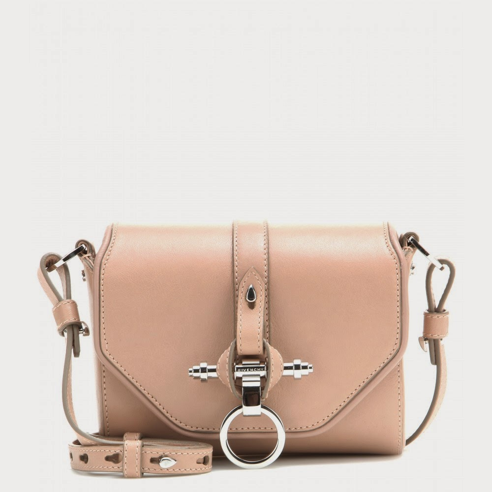 Givenchy Obsedia Leather Shoulder Bag