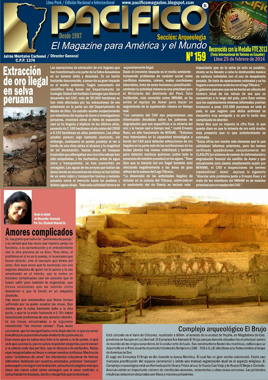 Revista Pacífico Nº 159 Arqueología