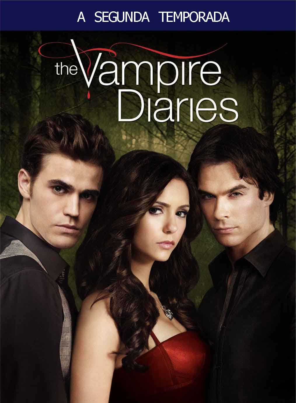 Diários de um Vampiro 2ª Temporada Torrent - BluRay 720p Dublado