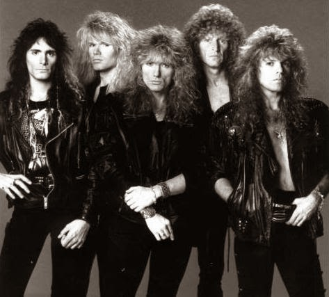 Formación de Whitesnake-Slip of the Tongue