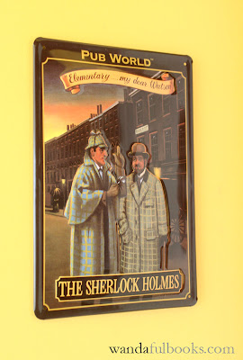Sherlock Homes Metal Plate