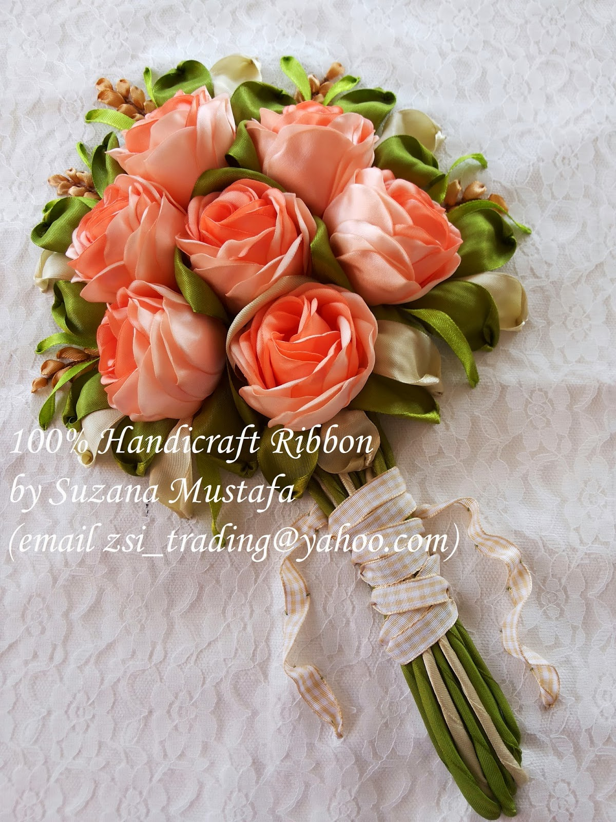 Suzana mustafa peach rose